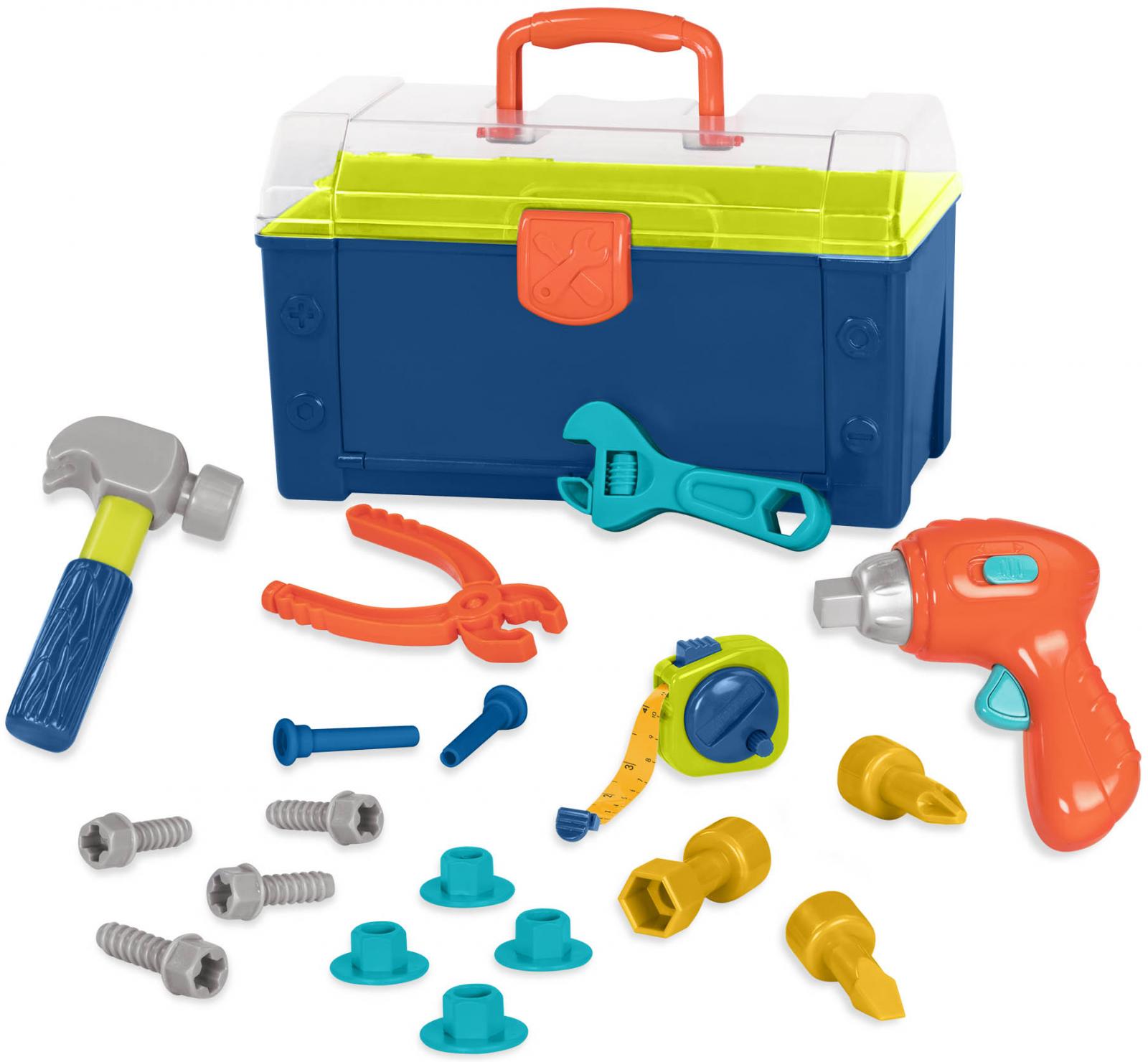 B-Toys Sada nářadí v kufříku Busy Builder