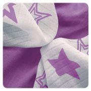 Bambusové ubrousky XKKO BMB 30x30 - Lilac Stars MIX