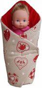 Zavinovačka pro panenku malá 50x50 cm