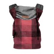 Klokanka CLICK CARRIER REVERSIBLE Red Plaid (vel. baby)
