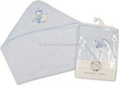 Snuggle Baby Dětská osuška s kapucí 75x75 cm