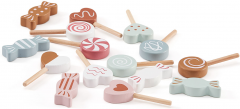 Kids Concept Bonbony dřevěné v sáčku Bistro