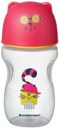 Tommee Tippee Hrnek s pítkem Soft 300ml 12m+ Pink